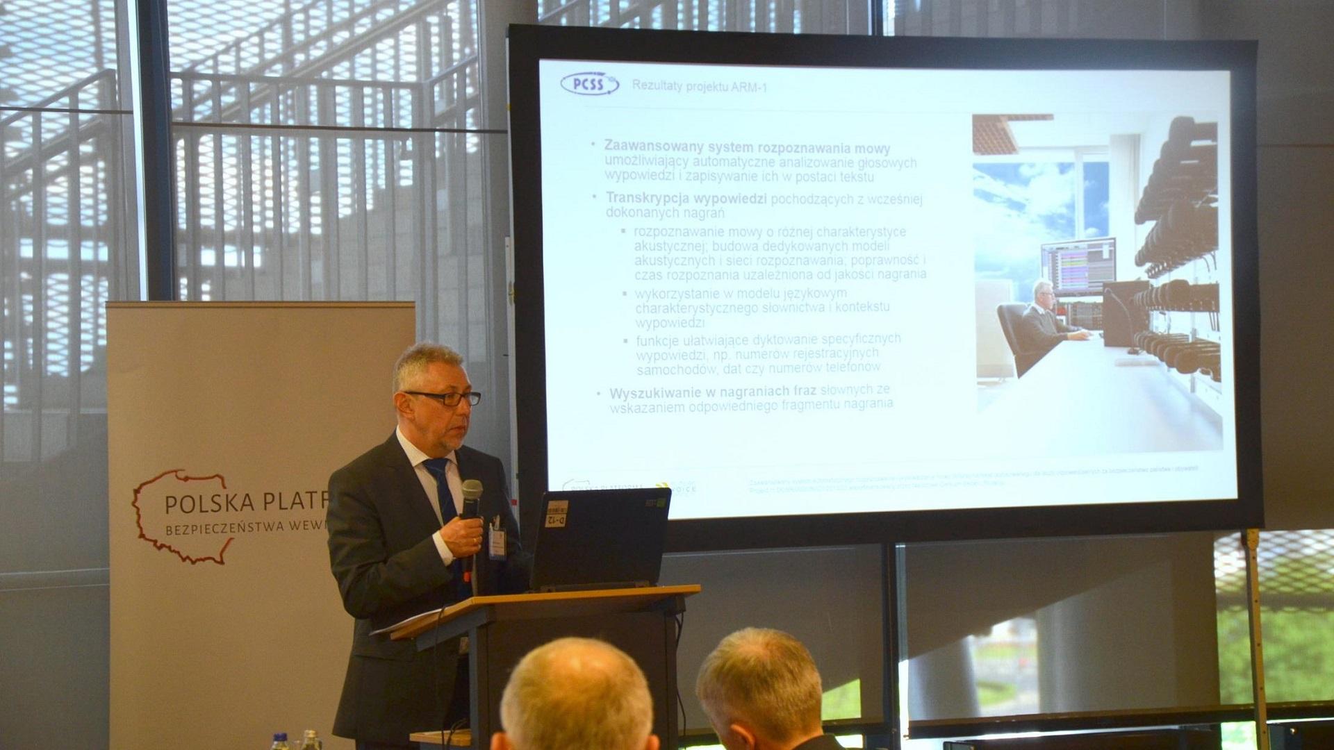 """O ARM1 i TIN na Konferencji """"Badania i Innowacje w obszarze bezpieczeństwa – wymiana międzynarodowych doświadczeń"""""""