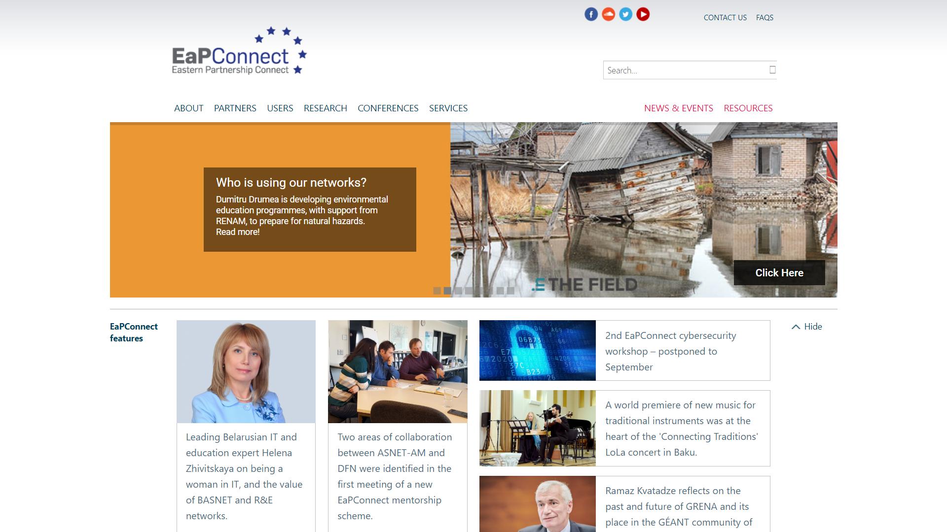 Spotkanie NREN-ów Europy Wschodniej w PCSS