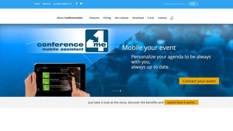 Conference4me: 5 lat na międzynarodowej arenie