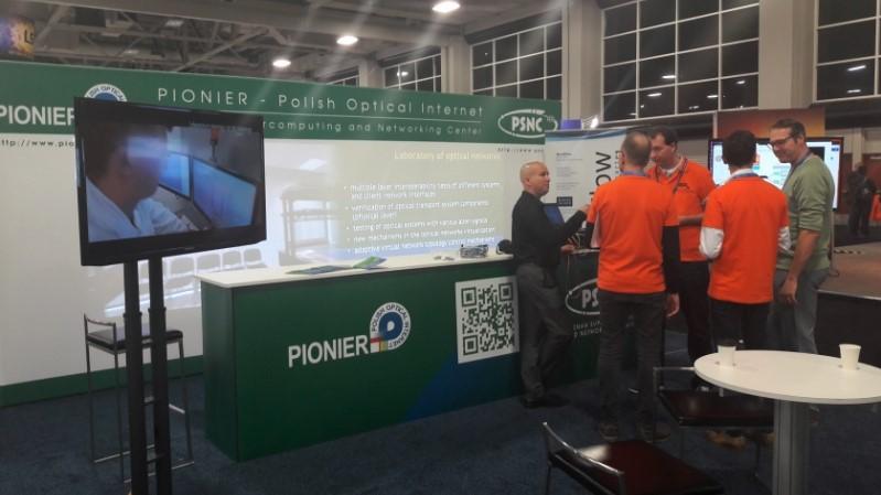 Fotorelacja: PCSS i PIONIER na SC16