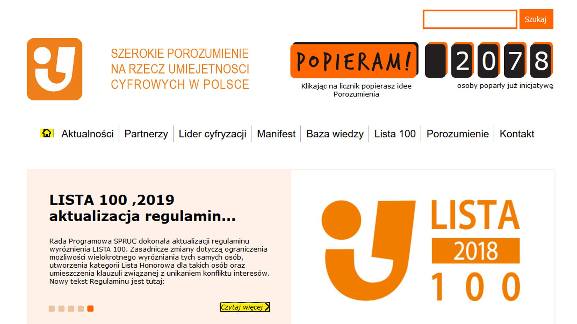 """Zbigniew Karwasiński wśród wyróżnionych na """"Liście 100"""" 2018"""