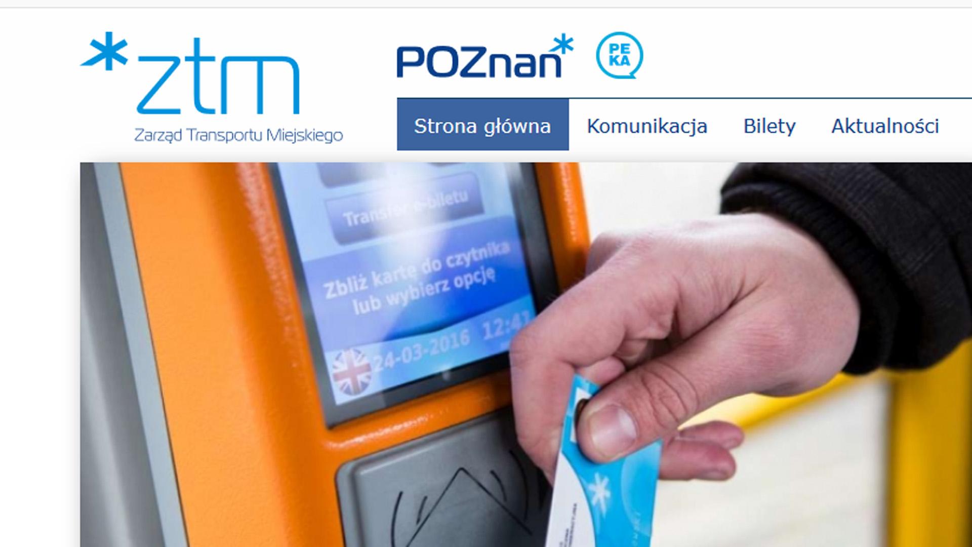 Współpraca PCSS i ZTM Poznań