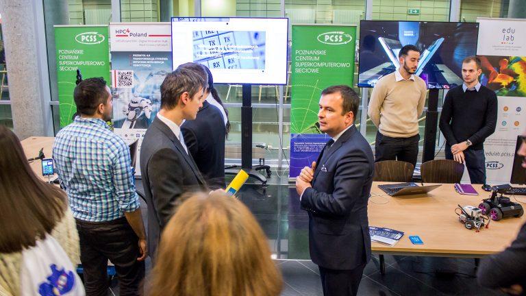 Fotorelacja: PCSS na Europejskim Tygodniu Robotyki