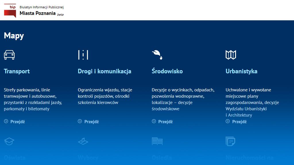 Współpraca: Nowa wersja Biuletynu Informacji Publicznej Miasta Poznania
