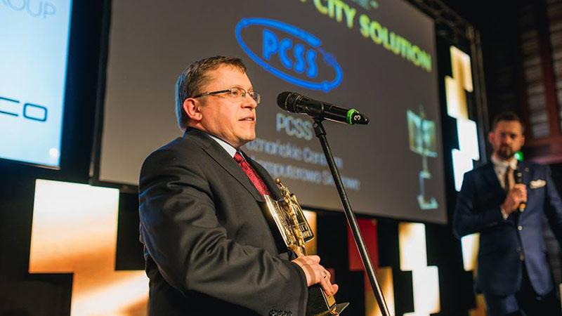 PCSS laureatem V edycji Konkursu Smart City