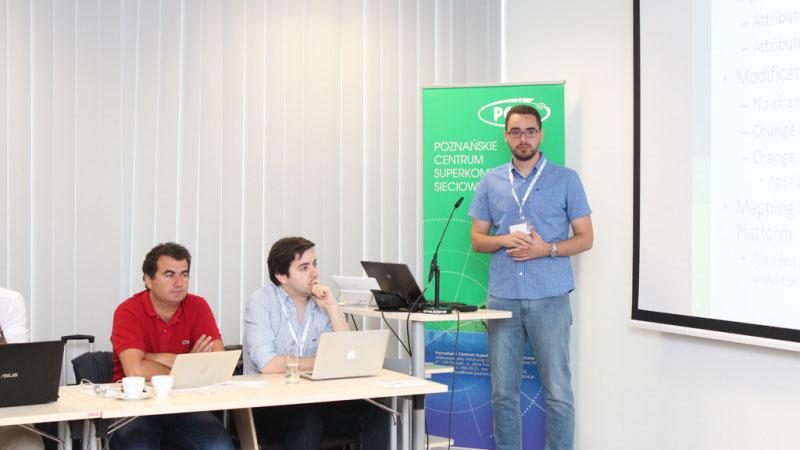 Spotkanie projektu SymbIoTe w PCSS