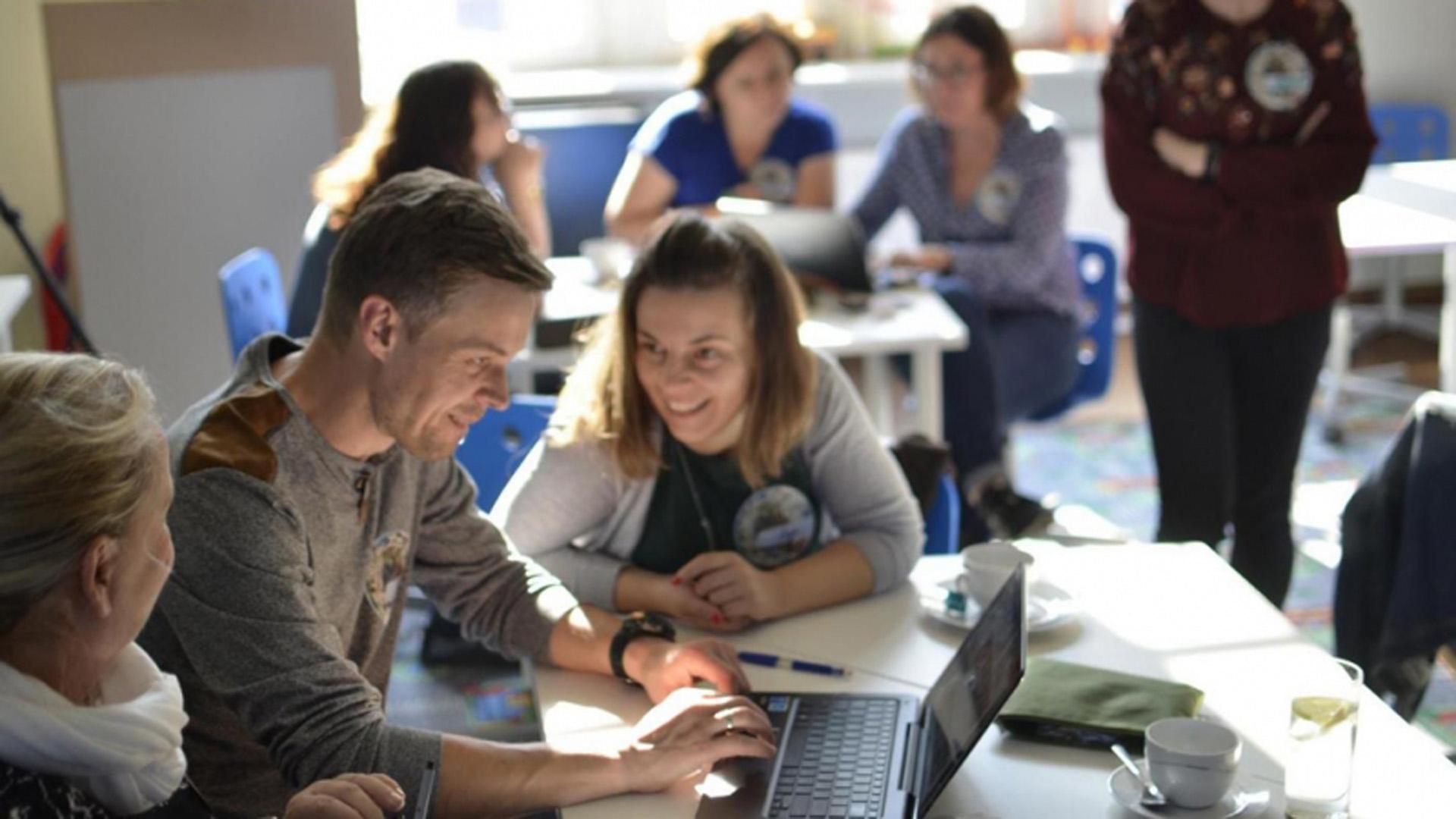 Fotorelacja: Warsztaty edukacyjne TuEuropeana 2018 w FutureLab