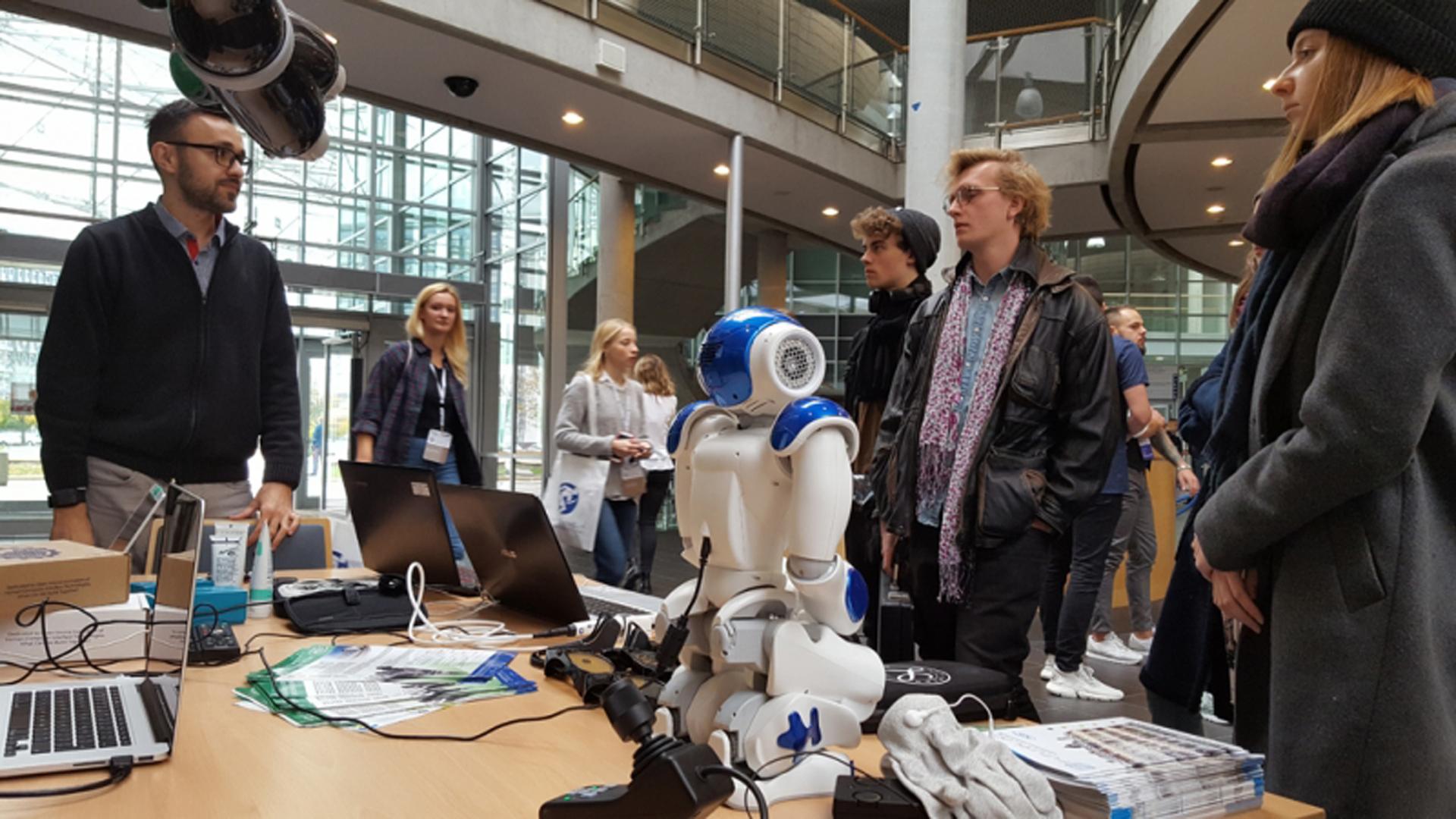 Fotorelacja: Stoisko PCSS na Konferencji Inżynierii Biomedycznej