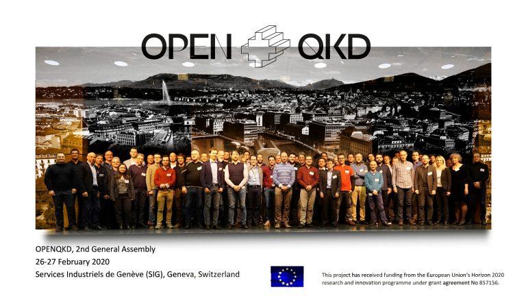 Spotkanie partnerów projektu OpenQKD z udziałem PCSS