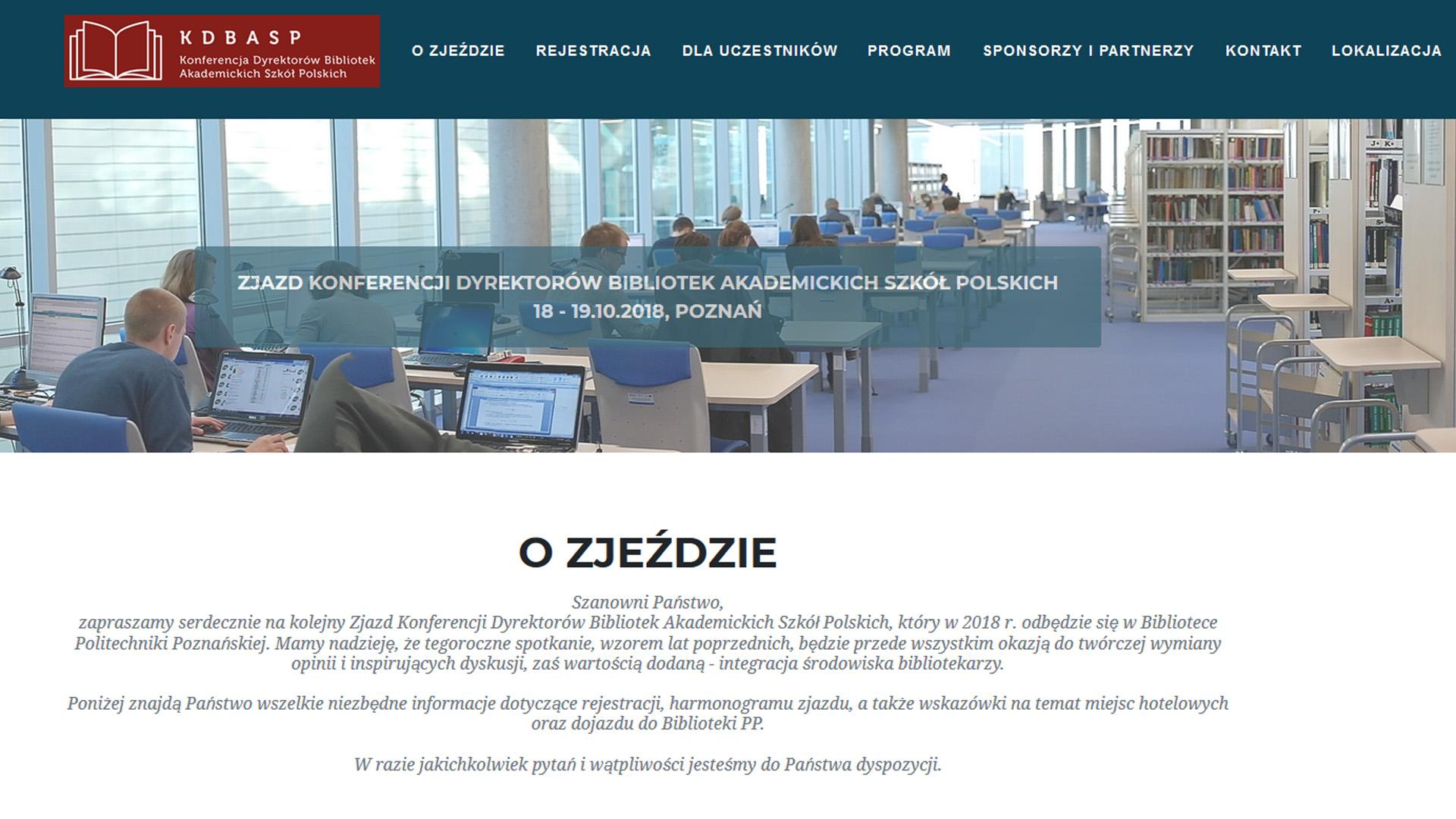 Stoisko PCSS na Zjeździe Konferencji Dyrektorów Bibliotek Akademickich Szkół Polskich