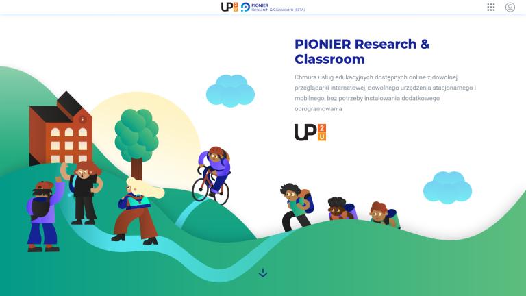 Rozpocznij pracę on-line z usługami PIONIER Research and Classroom