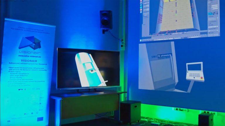 VISIONAIR – Zdalna współpraca przy projektowaniu 3D