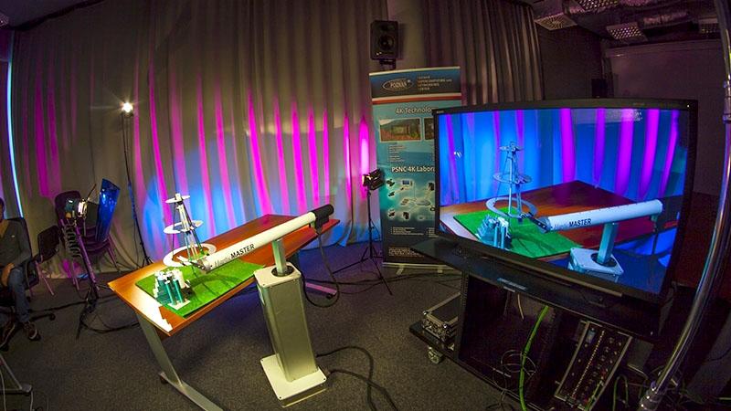 Transmisja optyczna 4K 3D 40 Gb/s Poznań-Amsterdam