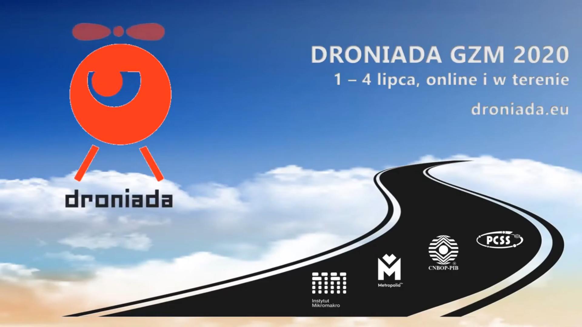 PCSS partnerem Droniady 2020
