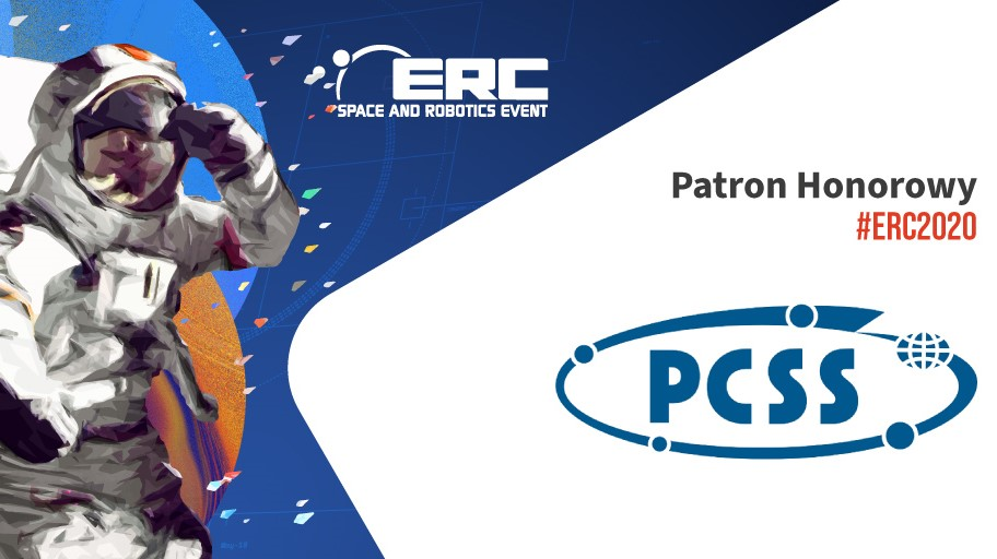 PCSS honorowym patronem szóstej edycji ERC Space and Robotics Event