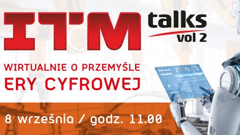 ITM_talks z udziałem dr. hab. inż. Krzysztofa Kurowskiego