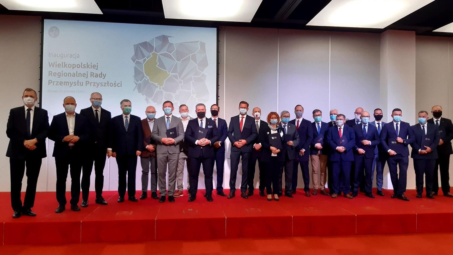 Dyrektor PCSS, Cezary Mazurek, powołany na stanowisko wiceprzewodniczącego Wielkopolskiej Regionalnej Rady Przemysłu Przyszłości