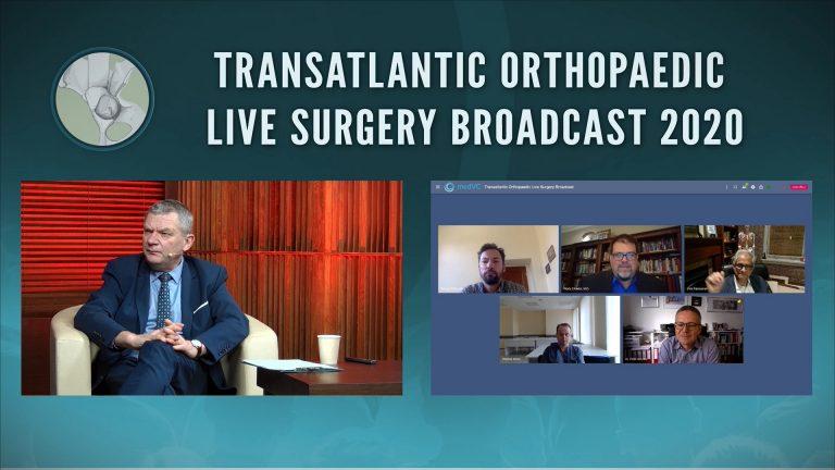 Orthopaedic Live Surgery Broadcast 2020 ze studia w PCSS