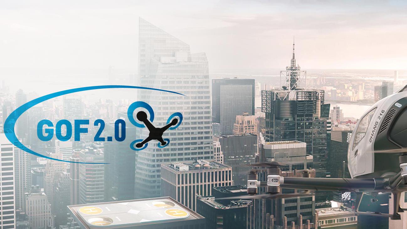 Wystartował projekt badawczy GOF 2.0 – PCSS weźmie udział w demonstratorze dronów w miejskiej przestrzeni powietrznej