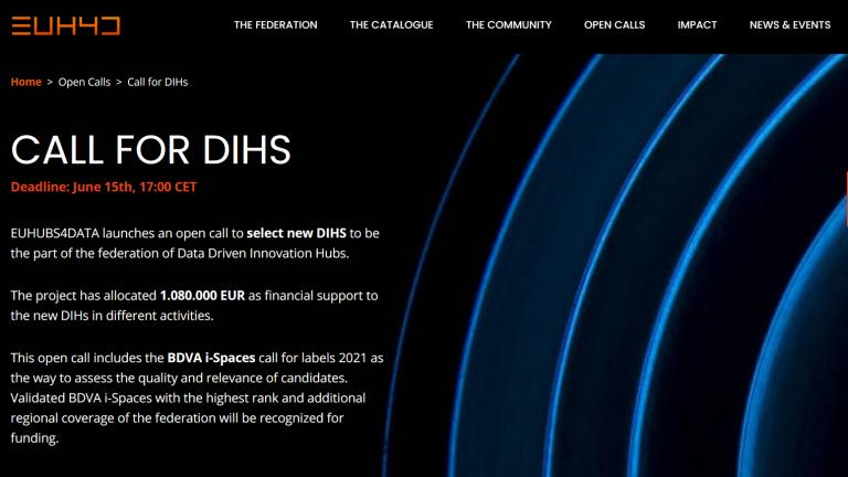 Open call w projekcie EUHubs4Data