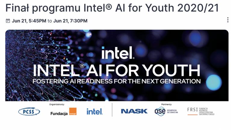 Wybrano 5 najlepszych projektów w ramach programu Intel® AI for Youth