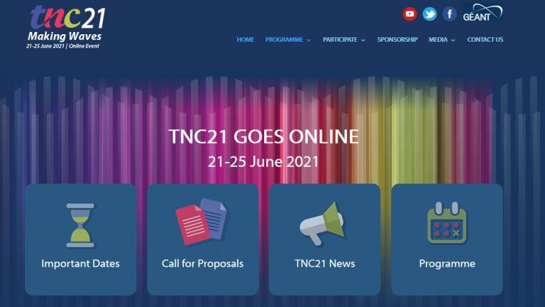PCSS realizuje Konferencję TNC21 – tym razem całkowicie zdalnie