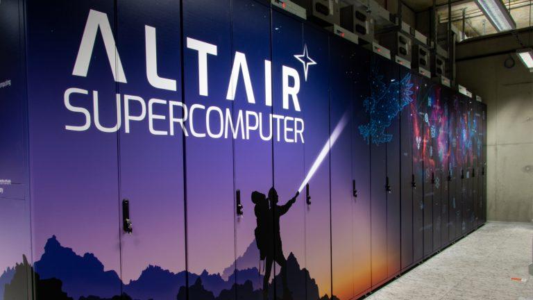 Superkomputer Altair jest w pełni operacyjny i gotowy do działania
