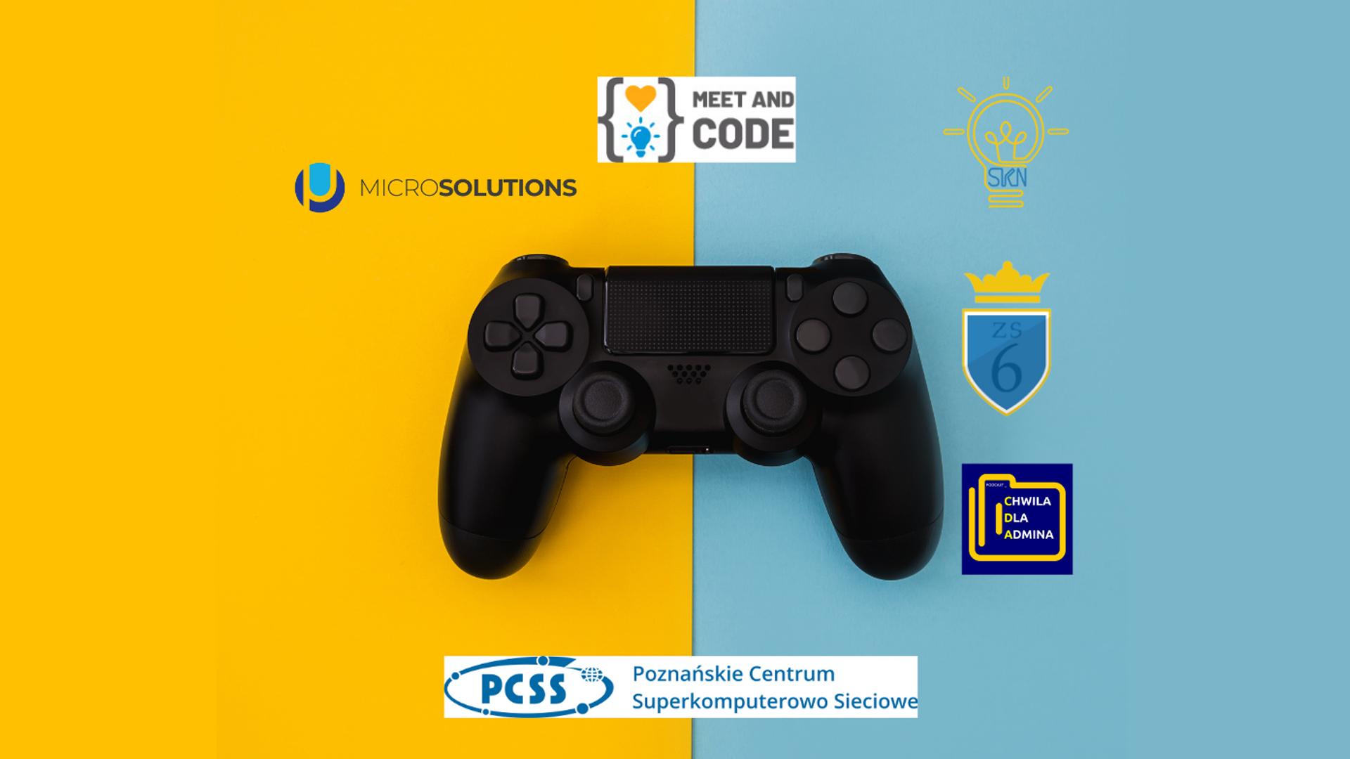 PCSS patronem Game Jam ZS 6