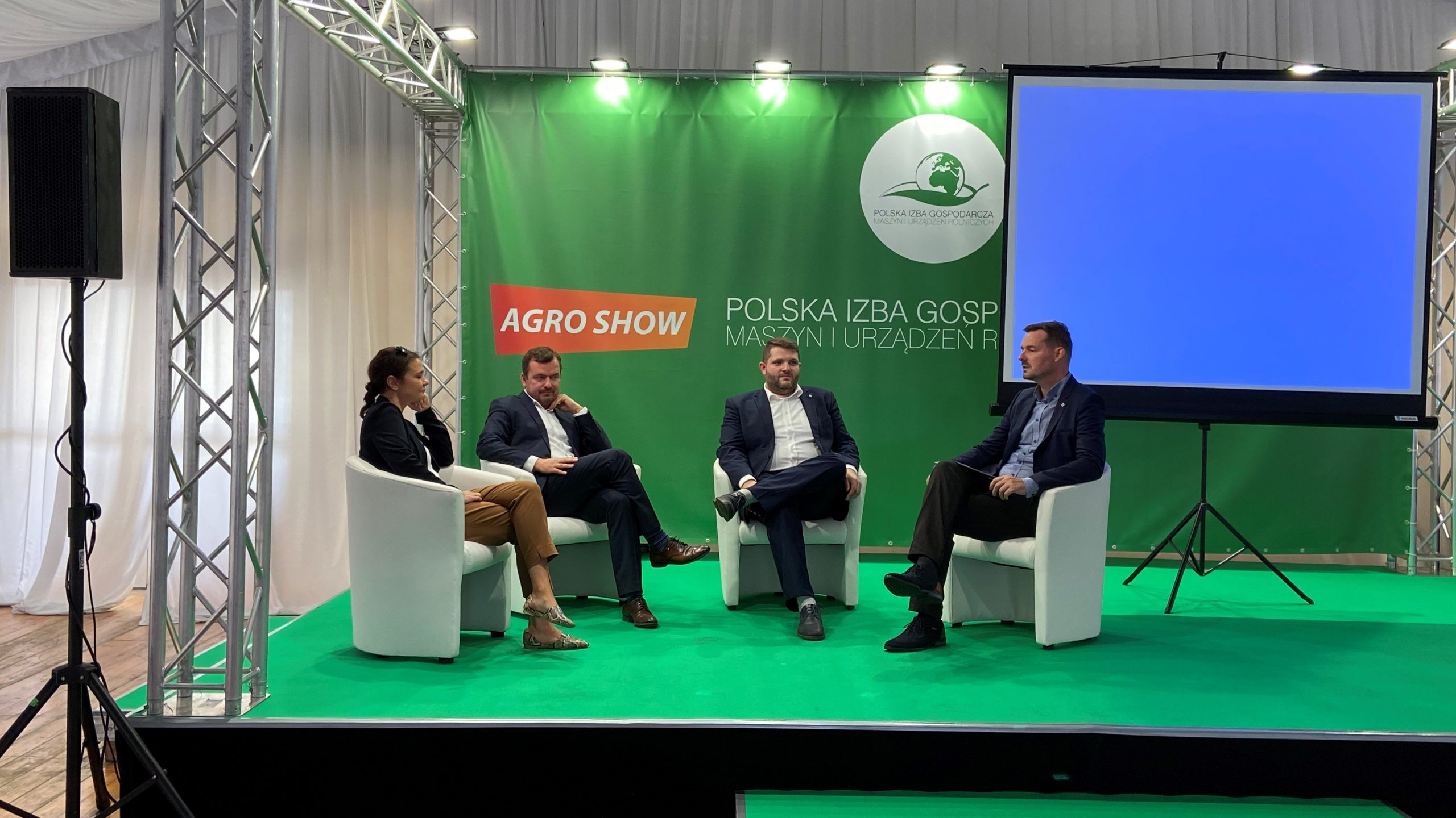 Prezentacja projektów na Targach Agro Show 2021
